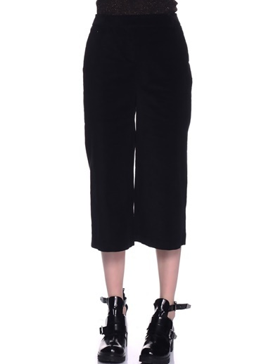 Limon Company Standart Fit Pamuklu Kadın Pantolon Siyah